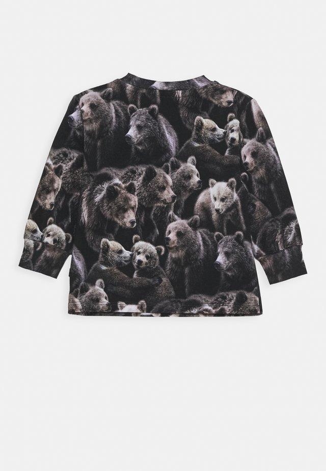 ELOY - Pitkähihainen paita - black