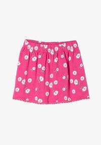 s.Oliver - A-line skirt - pink aop - 0
