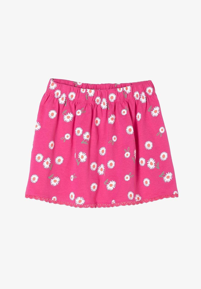s.Oliver - A-line skirt - pink aop