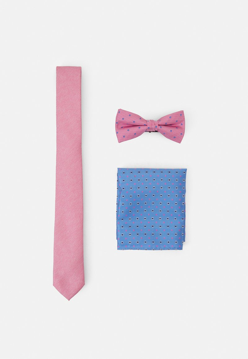 Jack & Jones - JACPINKY NECKTIE GIFTBOX SET - Tie - raspberry rose