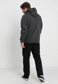 Urban Classics - ZIP HOODY - Zip-up hoodie - charcoal - 2