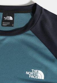 The North Face - M TANKEN RAGLAN TEE - EU - Print T-shirt - mallard blue/urban navy - 2