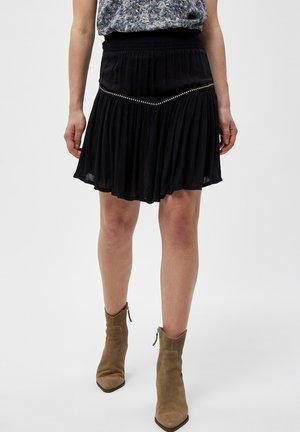 EVA  - A-line skirt - black