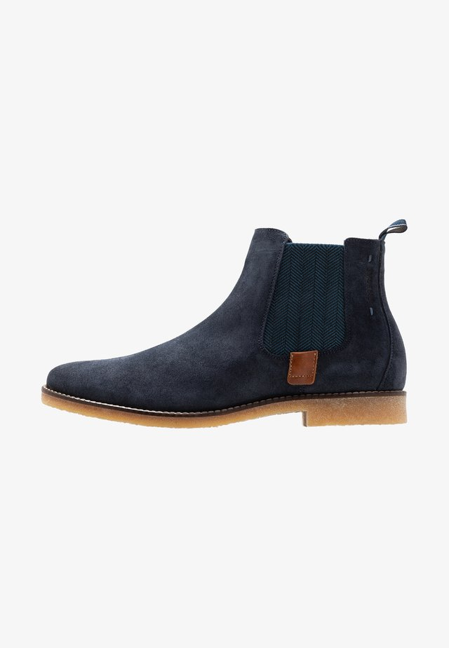 TREBLO - Classic ankle boots - navy