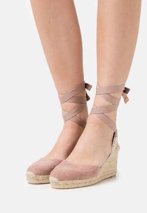 CARINA  - Platform sandals - dusty pink