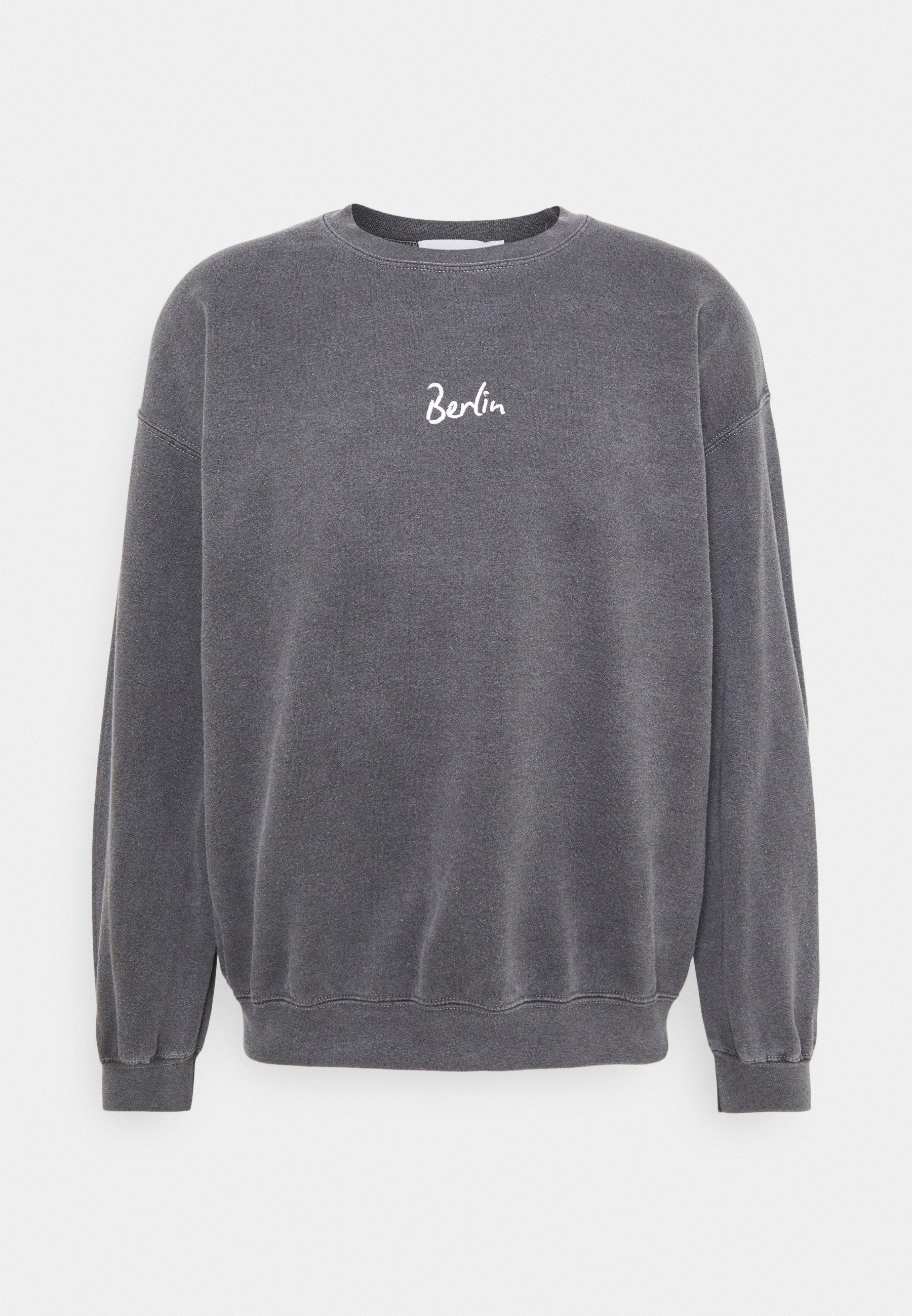 Women BERLIN BIRO PRINT UNISEX - Sweatshirt