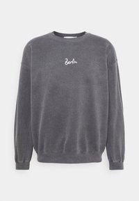 Topman - BERLIN BIRO PRINT UNISEX - Sweatshirt - black - 0
