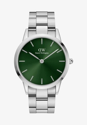 ICONIC LINK EMERALD - Hodinky - silver