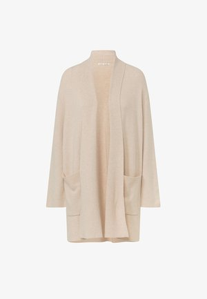 WITH POCKETS - Cardigan - beige