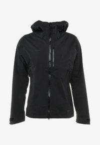KENTO HOODED JACKET MEN - Hardshell jacket - black