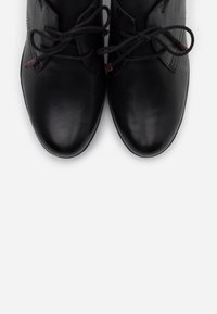 Marco Tozzi - LACE UP - Ankle boots - black antic - 5