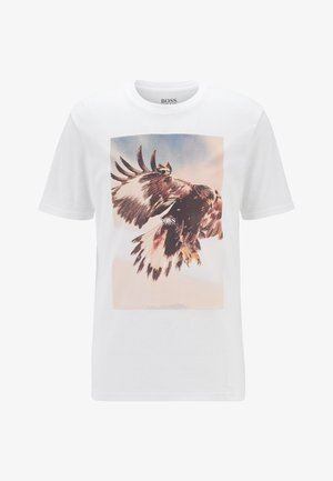 TOMIO - T-shirt imprimé - white
