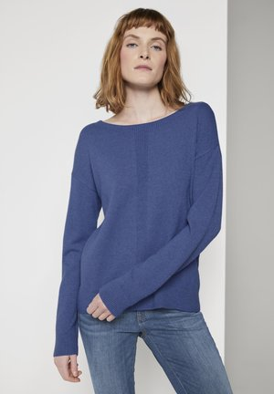 Jumper - blueberry blue melange