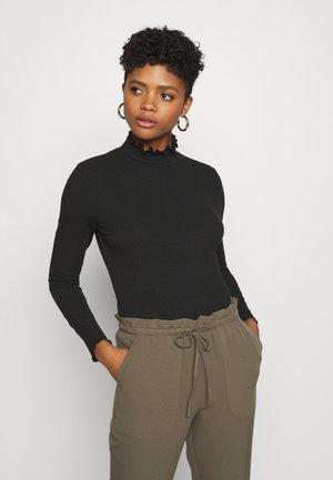 VMGLADYS HIGHNECK TOP - Long sleeved top - black