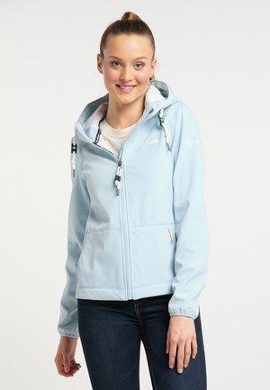 Outdoorová bunda - light blue