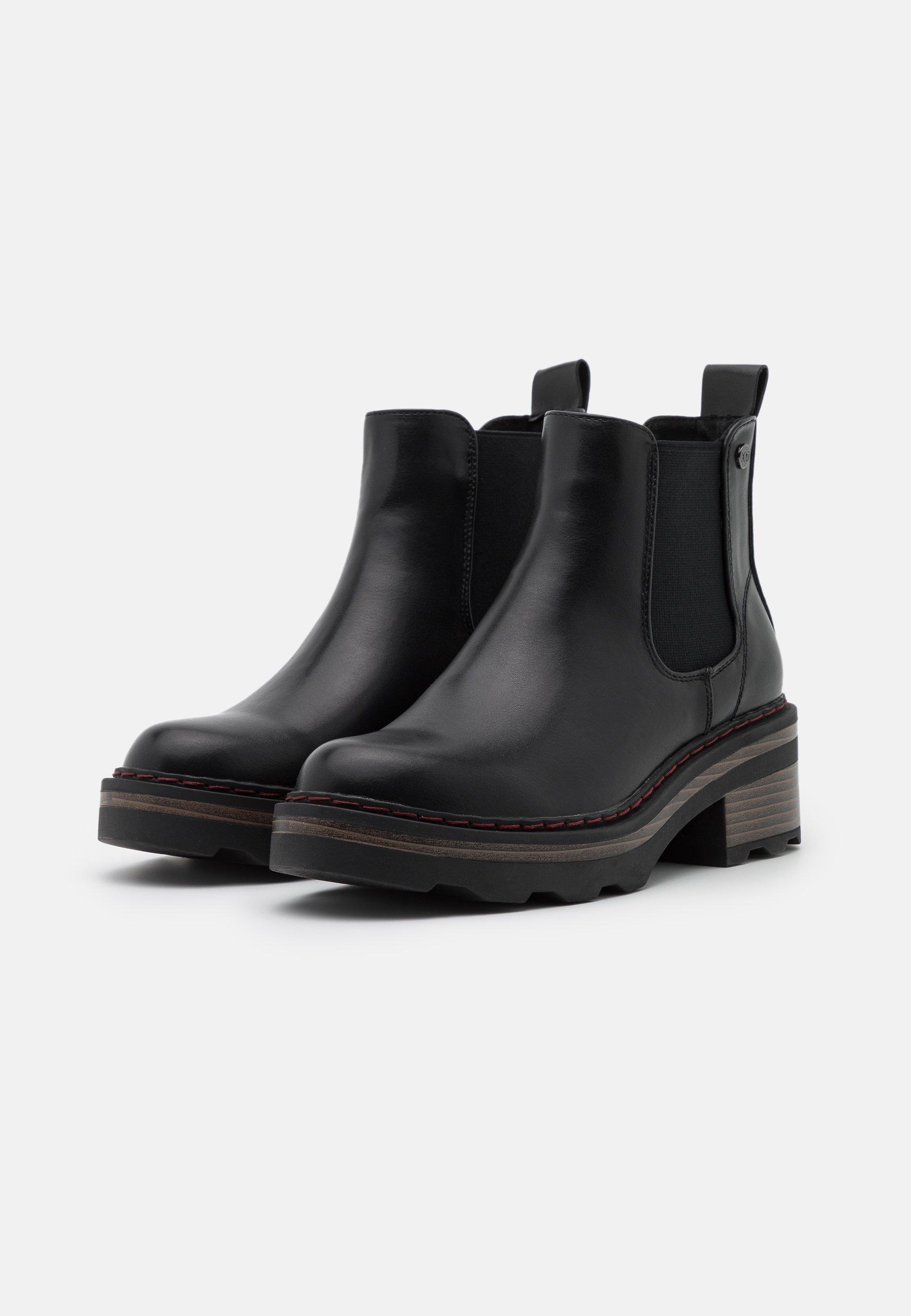 XTI Ankle Boot black/schwarz