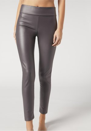 Leggings - Stockings - dunkelgrau -  dark grey