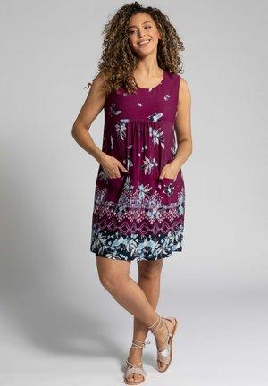 Jersey dress - magnolienrot