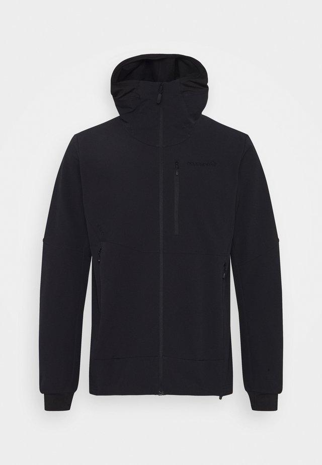 LOFOTEN HILOFLEX200 HOOD - Ski jas - black