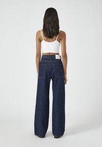 PULL&BEAR - Jeansy Straight Leg - dark blue - 2