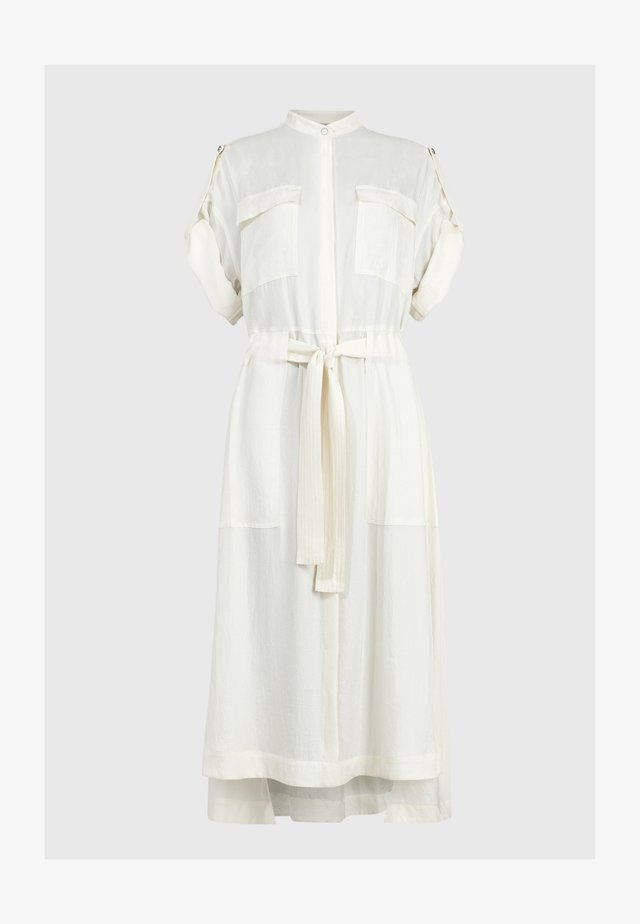 LUCIANA - Shirt dress - white