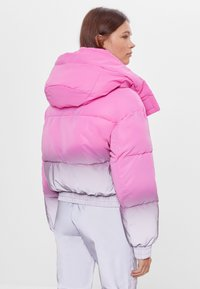 Bershka - Winter jacket - pink - 2