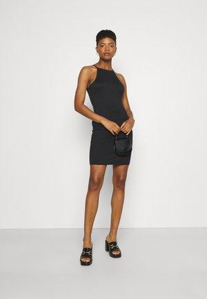 VIBE SINGLET DRESS 2 PACK - Robe en jersey - black/black green