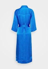 Diane von Furstenberg - BELTED SHIRT DRESS - Juhlamekko - tanzanite - 7