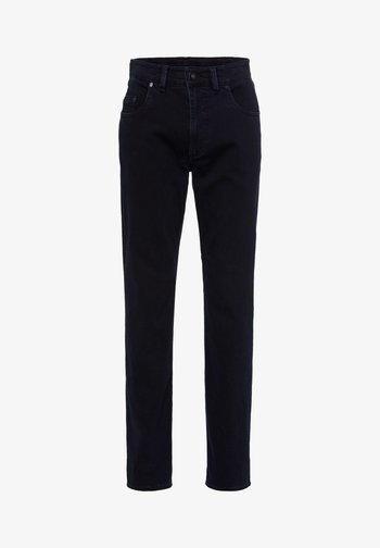 STYLE LUKE - Straight leg jeans - blue black