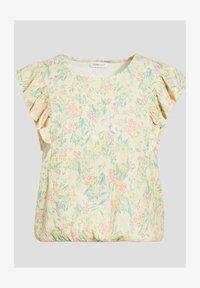 Cache Cache - Camiseta estampada - jaune pastel - 4