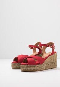 Castañer - BLAUDELL - Sandály na vysokém podpatku - rojo - 4