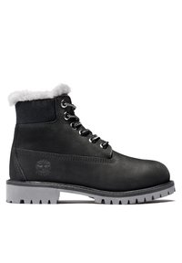 Timberland - 6 INCH PREMIUM WP SHEARLING - Winter boots - black nubuck - 4