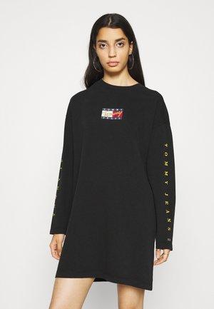 TEE DRESS - Kjole - black