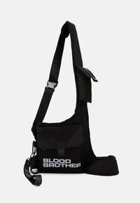 Blood Brother - OVAL - Across body bag - black - 0