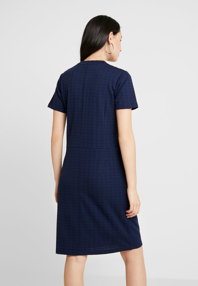 TONE DIELLA - Jersey dress - navy/navy