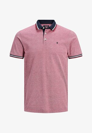 JJEPAULOS - Polo shirt - dark red