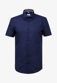 NEW KENT PATCH SLIM FIT - Shirt - dark blue