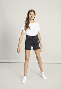 LMTD - Denim shorts - black denim - 0