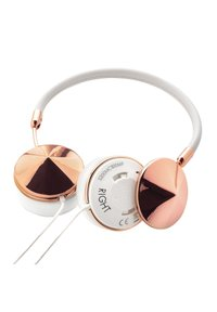 Frends - LAYLA RGW FREQUENCY BUNDLE - WIRED - Kuulokkeet - rose gold/white - 7