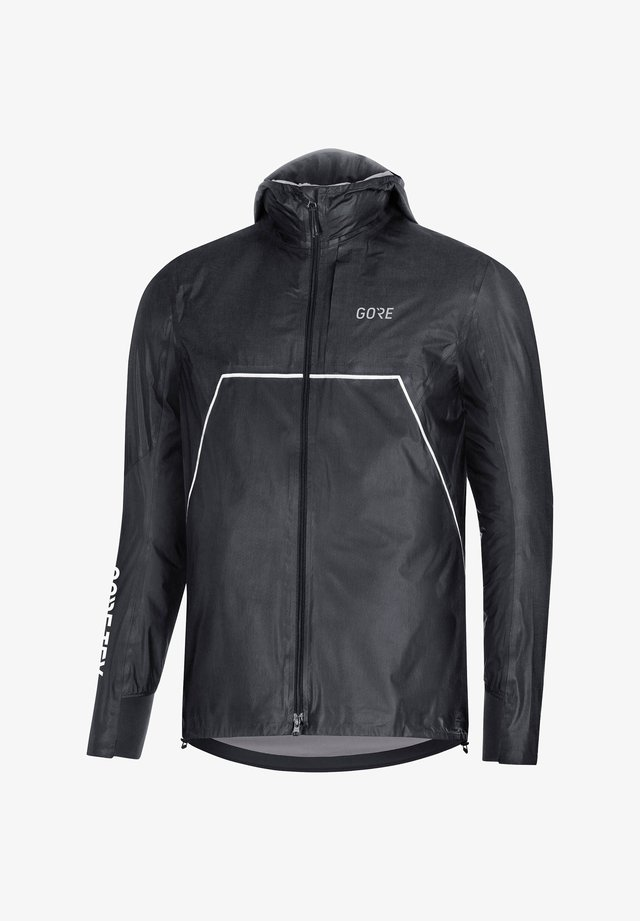 Training jacket - grau/schwarz (719)