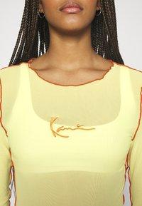 Karl Kani - SMALL SIGNATURE - Long sleeved top - lime - 5
