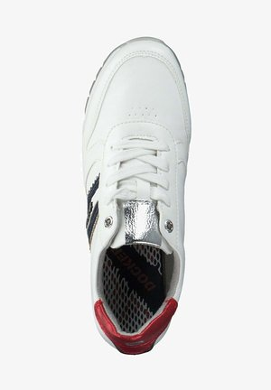 Trainers - weiss blau rot