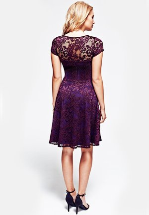 LACE FLARE  - Day dress - purple