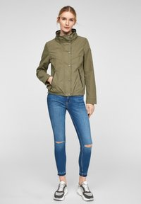 Q/S designed by - Light jacket - khaki - 1