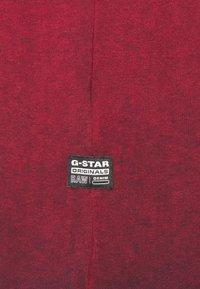 G-Star - LOGO OVERDYE  - Long sleeved top - dry red/sartho blue - 2