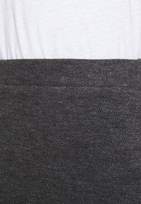 Vila - VIMANY  - Pencil skirt - dark grey melange - 5