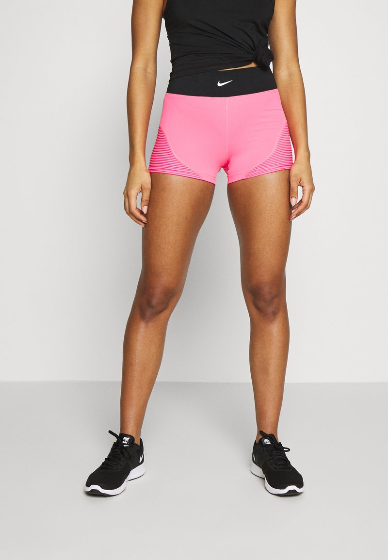 Nike Performance - AEROADAPT SHORT - Medias - digital pink/black/metallic silver