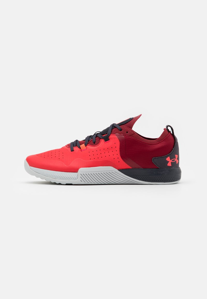 Under Armour - TRIBASE THRIVE 2 - Chaussures d'entraînement et de fitness - versa red
