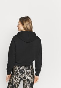 NU-IN - CROPPED HOODIE - Sweatshirt - black - 2