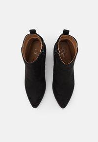 ONLY SHOES - ONLBRODIE LIFE HEELED BOOTIE   - Kotníková obuv na vysokém podpatku - black - 5